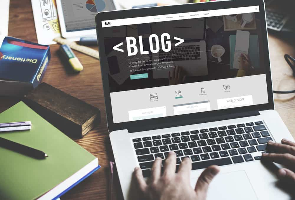 well maintained blog