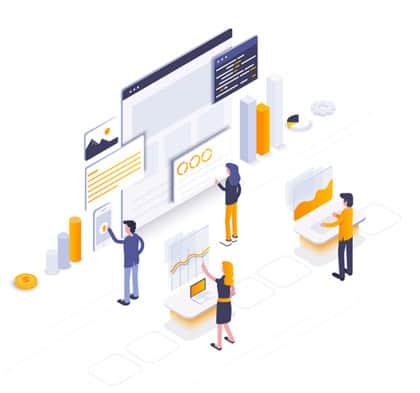 seo analysis concept image