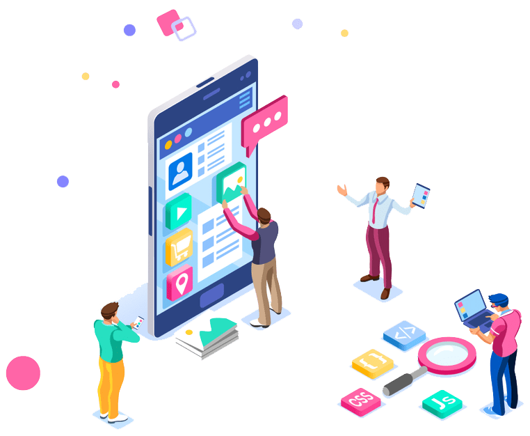 UI UX Design flat image