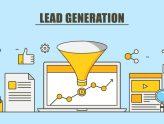 Lead generation flat image