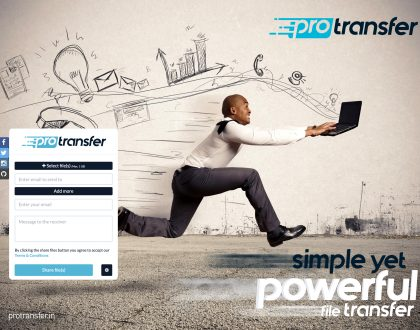 Best way to transfer files online - ProTransfer